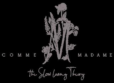 Logo comme madame le blog mariage