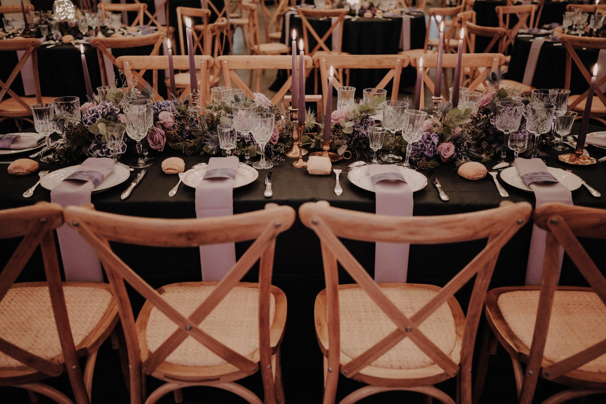 décoration de table mariage industriel. Empreinte Ephémère wedding planner Provence paris normandie
