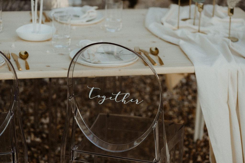 mariage atypique, mariage pampa et fleurs séchées. Empreinte éphémère wedding planner Provence paris normandie