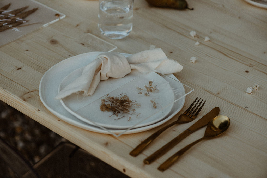 idée déco pour un mariage original et simple. Empreinte éphémère wedding planner Provence paris normandie