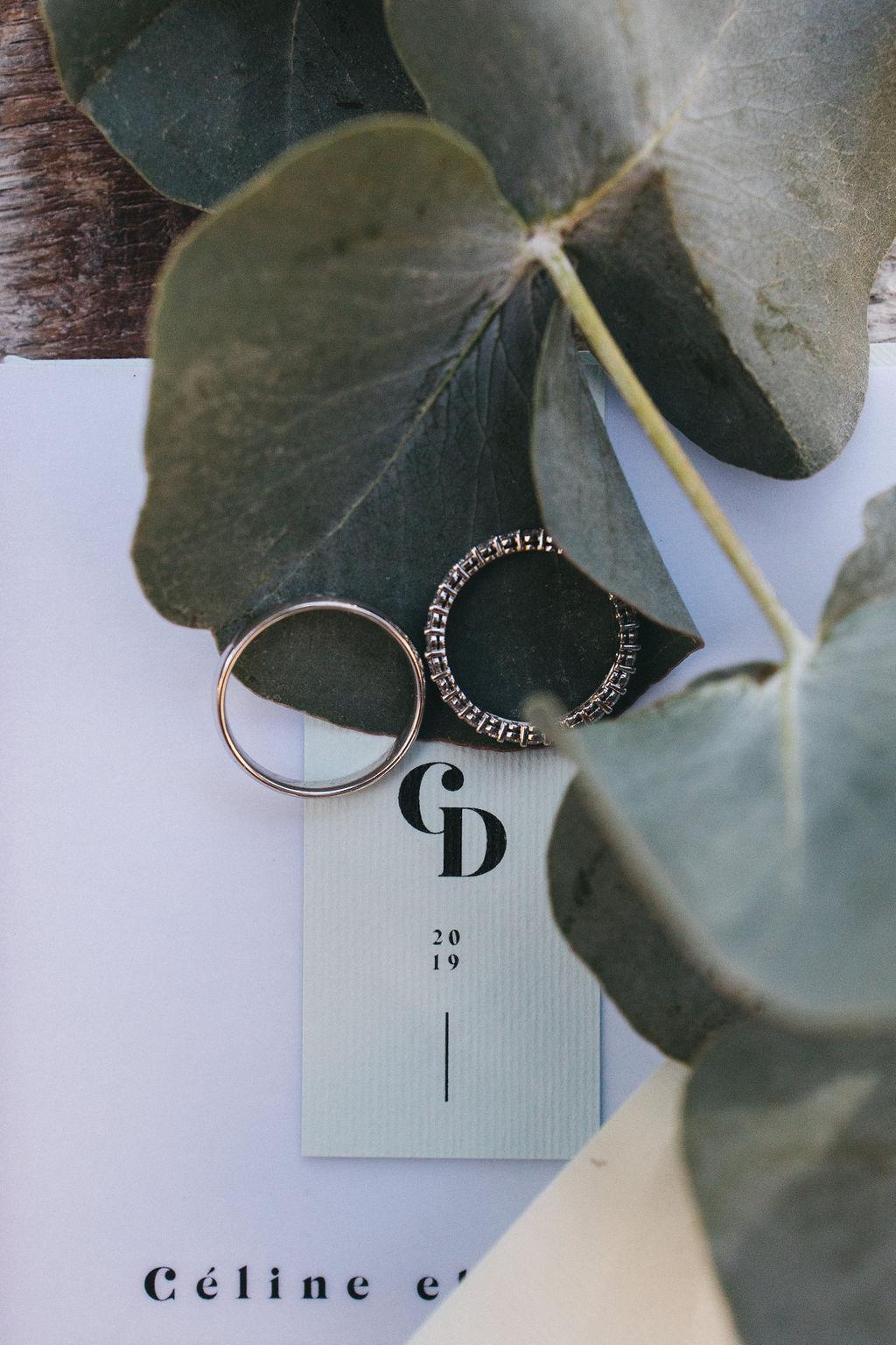 organisation de mariage sur le thème eucalyptus. Empreinte Ephémère wedding planner Provence, paris, normandie