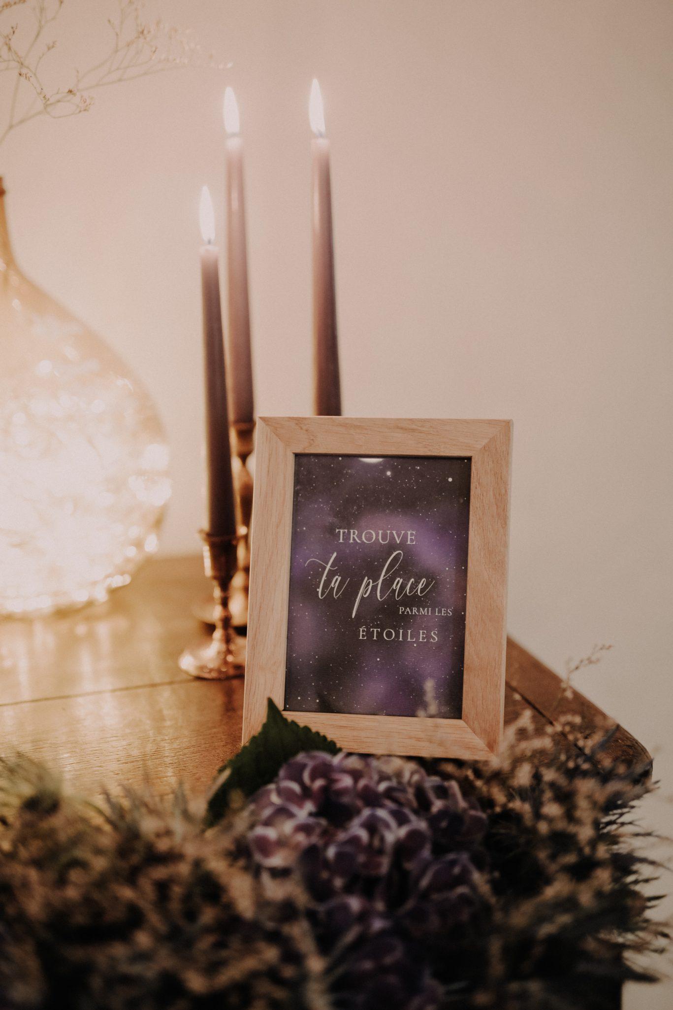 plan de table mariage celeste et constellation. Empreinte Ephémère wedding planner Provence paris normandie