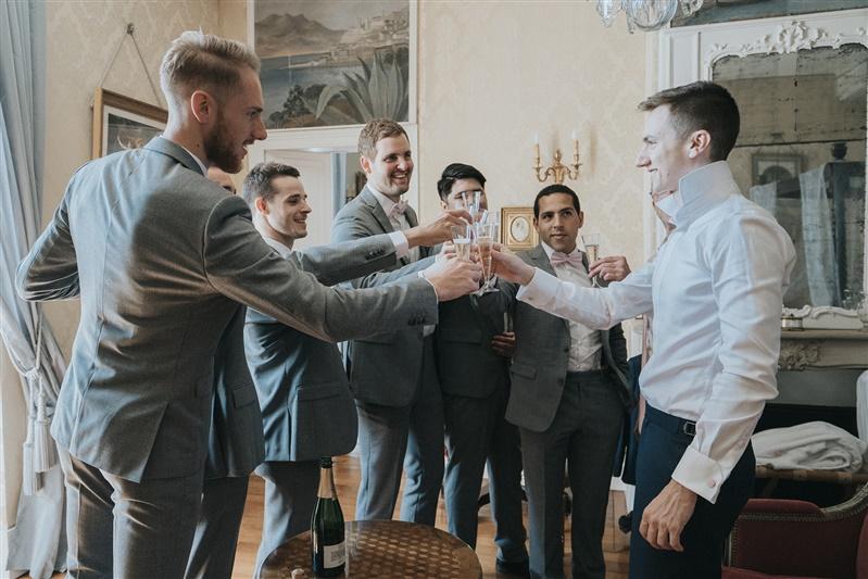 témoin mariage au chateau barthélemy. Empreinte éphémère wedding planner Provence paris normandie