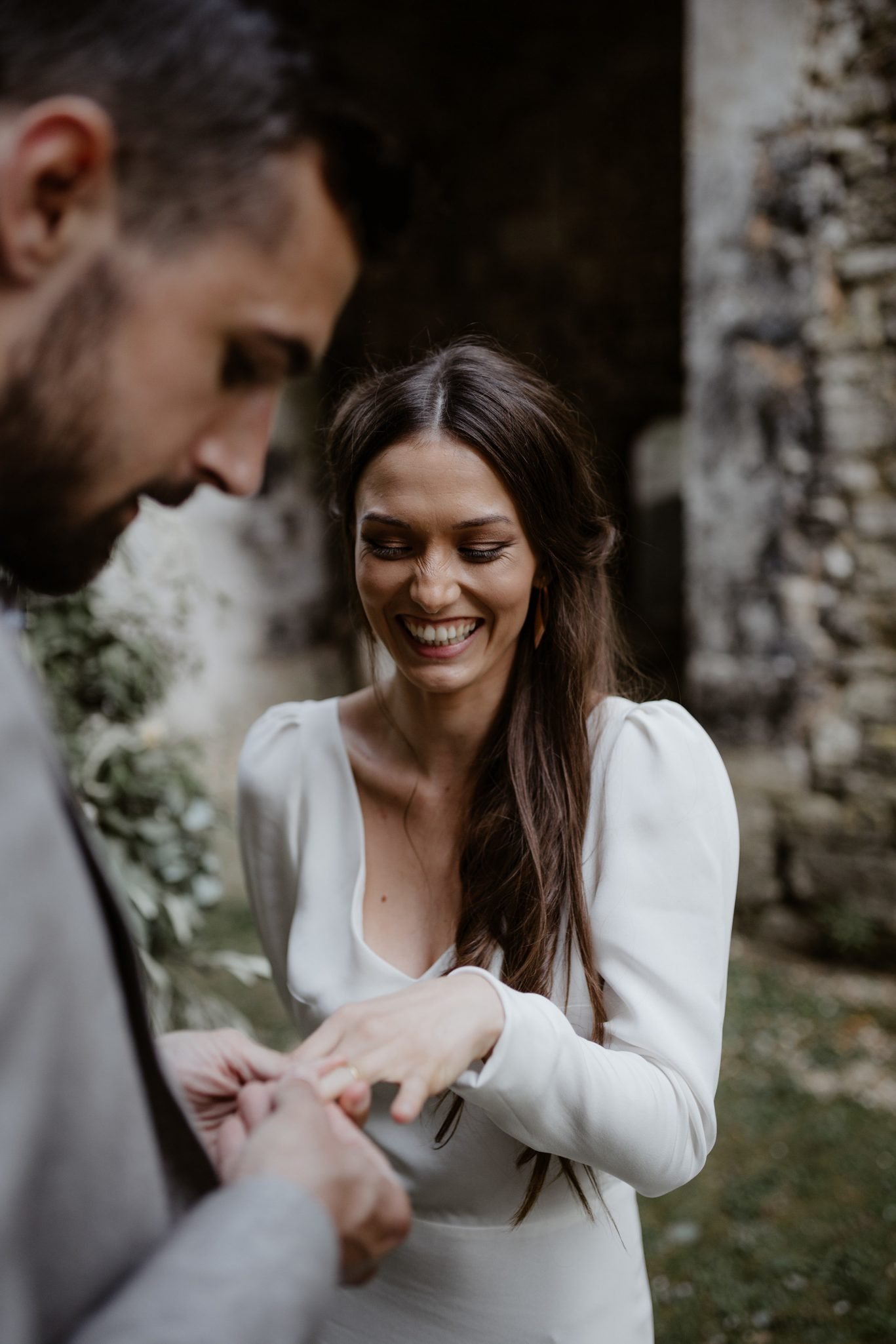 mariage intime et mariage en petit comite dans un lieu atypique en normandie. Empreinte éphémère wedding planner Provence paris normandie