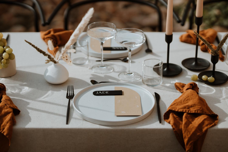 décoration de mariage terracotta en Provence wedding Planner et décoratrice à Montpellier